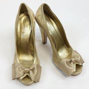 COACH Bow Heels